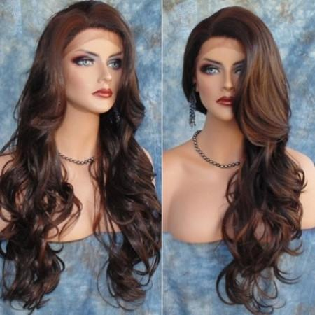 Partial Distribution Type Big Wave Long Wig