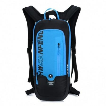 HUWAIJIANFENG Waterproof Travel Wear-resistant Backpack for Men