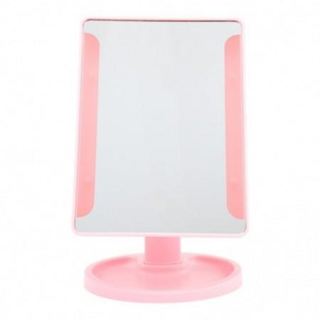 Rotation Intelligent LED Light Makeup Mirror