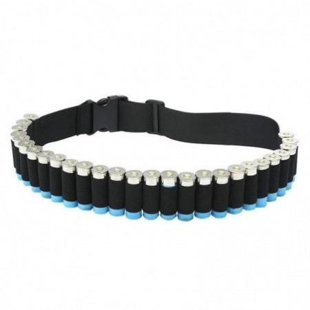 Tactical Shotgun Shell Holder 12 Gauge Ammo Carrier Waist Belt
