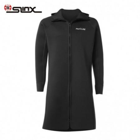 SLINX 3mm Sunblock Neoprene Diving Long Hooded Coat Wetsuit