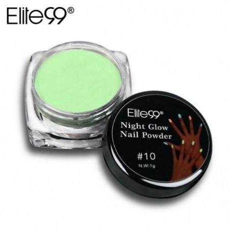 1ml Elite99 Nail Glitter Powder Fluorescent Luminous Night Glow