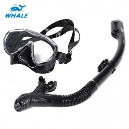 WHALE Professional Diving Silicone Mask Snorkel Set