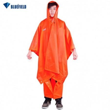 Bluefield 3 in 1 Multi Function Raincoat Outdoor Camping Waterproof Packable Poncho