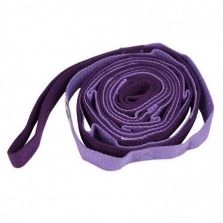 2.5m Auxiliary Yoga Strap Flexible Stretch Belt