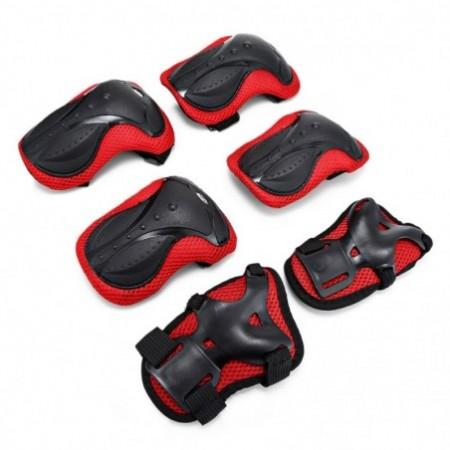 6PCS Skating Protective Gear Wrist Knee Pad Elbow Guard