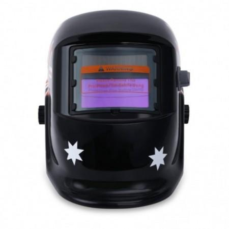 British Flag Pattern Auto Darkening Welding Helmet