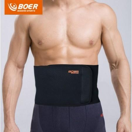 BOER Sport Breathable Adjustable Waist Back Belt Support Lumbar Band Protective Gear
