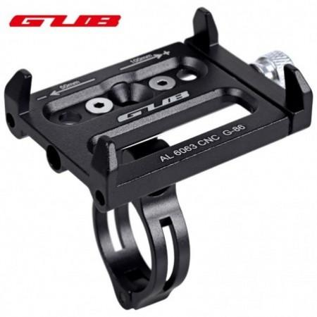 GUB Aluminum Alloy Adjustable Bicycle Phone Holder Bike Handlebar Mount Stand