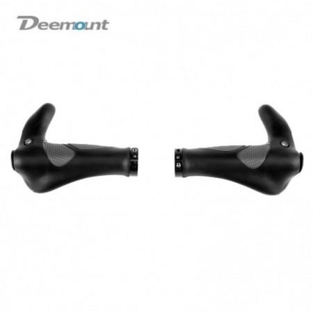 Deemount Mountain Bike Handlebar Cover Rubber Horn Bicycle Grips