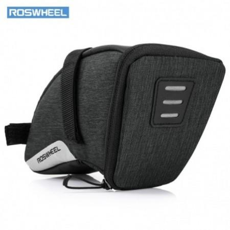 ROSWHEEL 131470 Water-resistant Bike Saddle Bag Under Seat Pack Tail Pouch