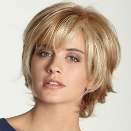 Fashionable Partial Distribution Type Straight Short Wig