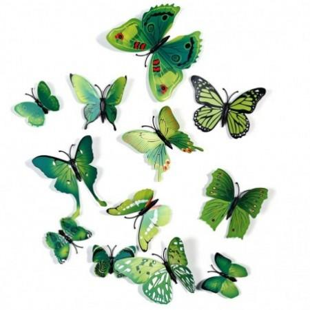 3D Butterfly Wall Stickers Decor Art Decorations