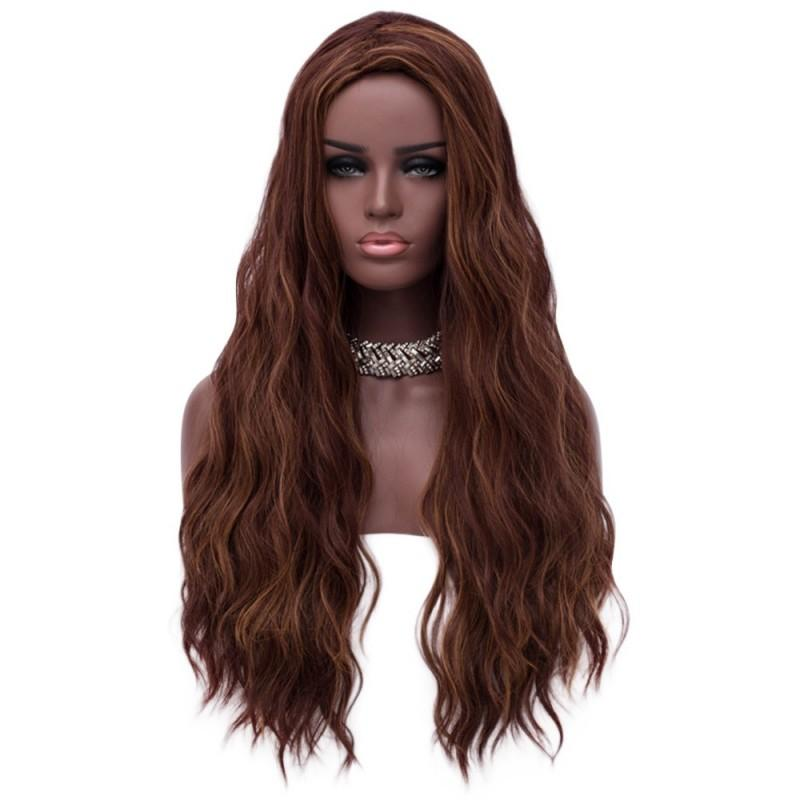 Long Fluffy Natural Wavy Synthetic Wig