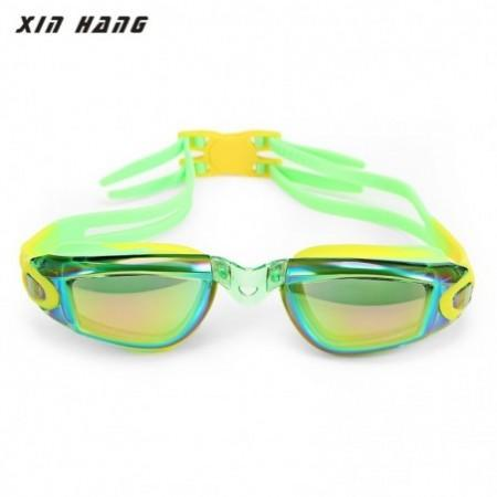 XINHANG XH3100 HD Plating Anti-fog UV Silicone Goggles for Children