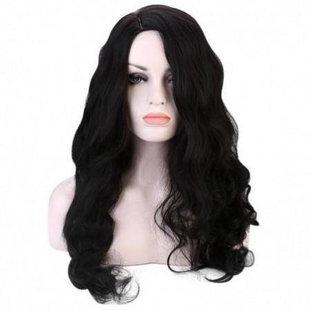 Side Parting Shaggy Long Wavy Heat Resistant Synthetic Wig