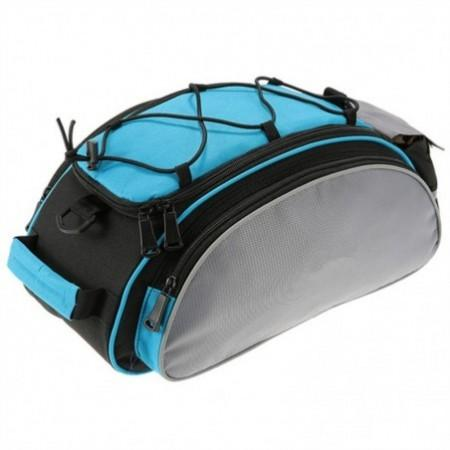 Bicycle Carrier Bag Seat Shelf Pouch Cycling Luggage Handbag