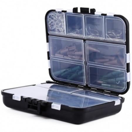 1set Assorted Carp Fishing Accessories Gear Set Box