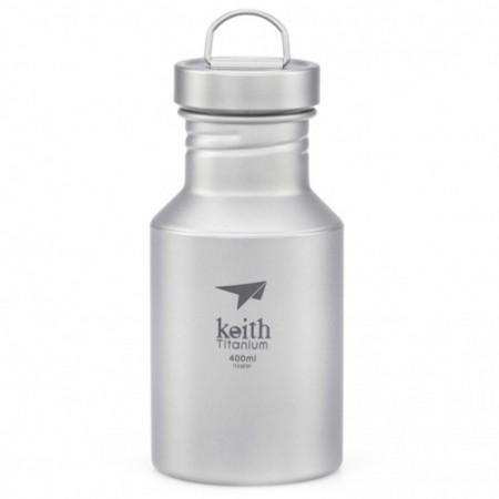 Keith Ti3030 Lightweight Portable 400ml Titanium Sport Bottle