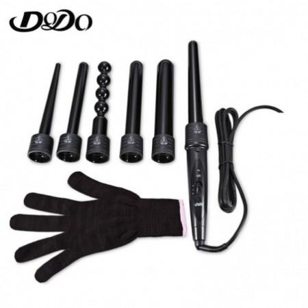 DODO Electric 6 in 1 Hair Curler Conical Ceramic Curling Tool