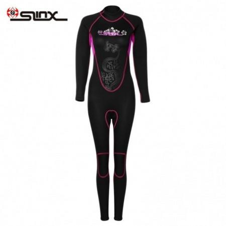 SLINX 3mm Female Long Sleeves Warm Surfing Diving Wetsuit