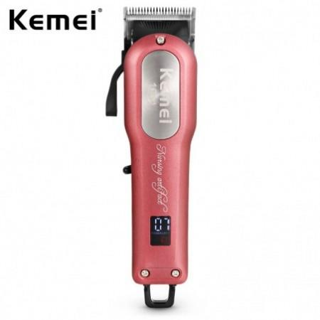 KM - 1031 Adjustable Cordless Powerful Motor Hair Clipper with 4 Guide Comb