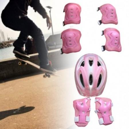 New Kids Sports Safety Protective Gear For Skateboard Balance Car Roller Skating Sporting Goods Protective Gear Romeinformation It