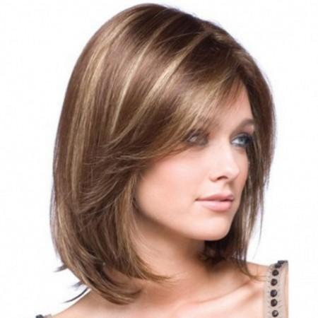 Gold Gradients Straight Short Wig