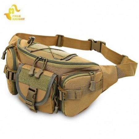 Free Knight Tactical Molle Waist Bag Military Hip Belt Pack