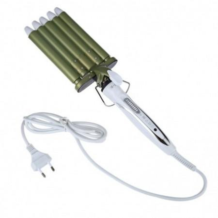 Professional Hair Curler 160 / 190 / 220 Degree Adjustable Curling Wand Heat Iron Barrel Rapid Tools