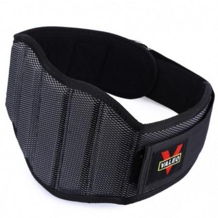 VALEO Sponge Nylon Weight Lifting Squat Belt Protect Lumbar Back Waist for Fitness Training