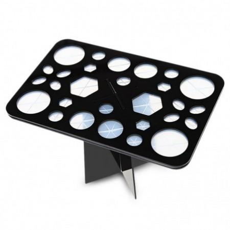 28 Holes Makeup Brush Drying Storage Stand Holder
