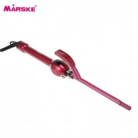 MARSKE LCD Curling Iron Wand Stick Hair Curler Hairdressing Tool