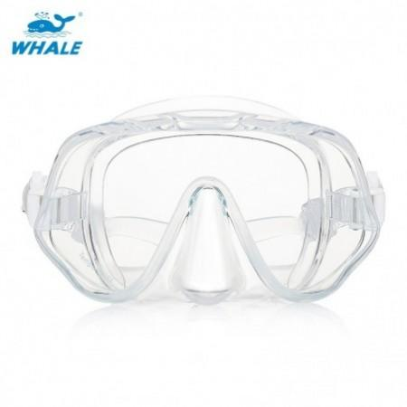 WHALE MK - 1000 Adult Silicone Diving Seal Mask Goggles with Good Vision