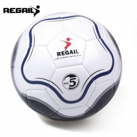 REGAIL Size 5 PU Flower Shape Training Football Soccer Ball