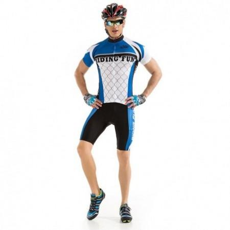 RIDING FUN Men Short-sleeved Cycling Suit