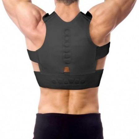 Men Women Slimming Magnetic Therapy Brace Posture Support Corrector Back belt