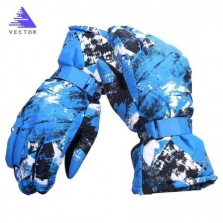 VECTOR Winter Windproof Water-resistant Warm Skiing Snowboarding Gloves