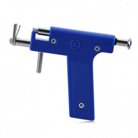 Steel Ear Nose Navel Body Piercing Gun with Studs Tool Kit Sets