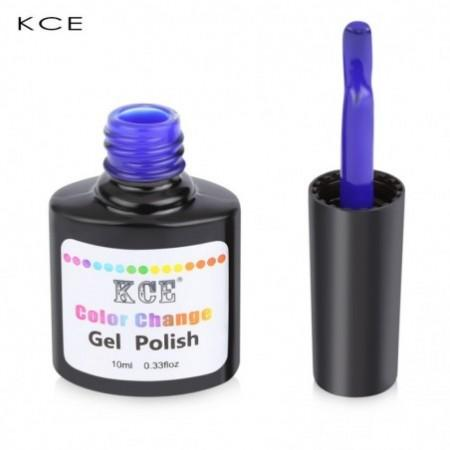 KCE Waterproof Lasting Bright Colorful Temperature Change Gel Nail Polish