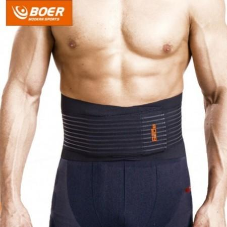 BOER 7992 Fitness Trainer Body Shaper Waist Trimmer Tummy Slimming Belt