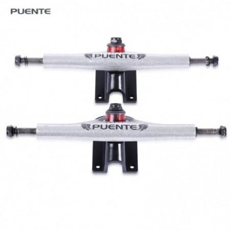 PUENTE 2pcs Universal Durable Magnesium Alloy 7 inch Skateboard Truck