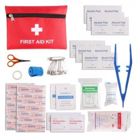 13-PIECE First Aid Kit Travel Sports Rescue Medical Hiking Camping First Aid Kit