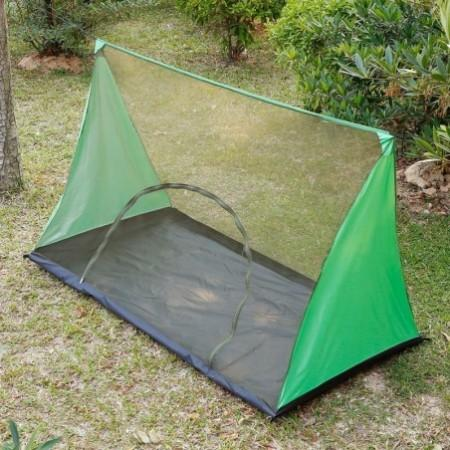 Two Person Water Resistance Outdoor Camping Mosquito Fly Net Hiking Rodless Tent