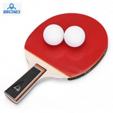 BOLI Two Star Table Tennis Ping Pong Racket Set