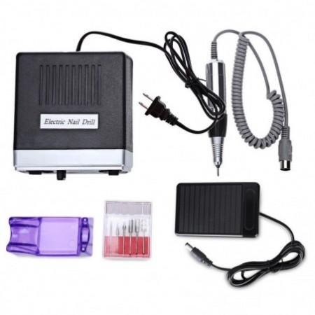 Professional False Nail Electric File Drill Manicure Pedicure Machine