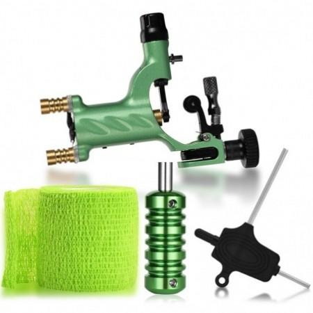 ATOMUS WSTZ000903 Green Bandage Tattoo Machine Set