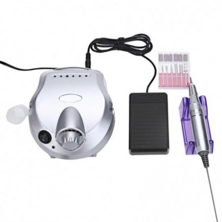 Professional Electric Polisher File Manicure Pedicure Nail Glazing Machine