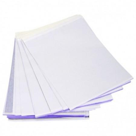 100pcs Tattoo Accessories A4 Carbon Transfer Paper Thermal Stencil Supply