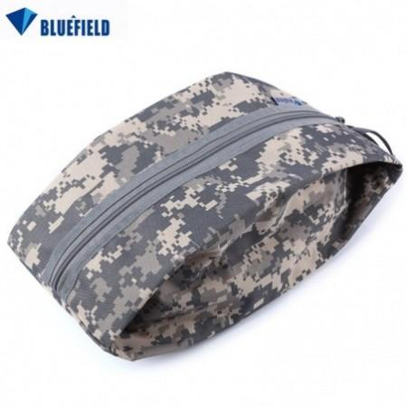 Bluefield Multifunctional Thick Camouflage Travel Shoes Storage Wash Bag